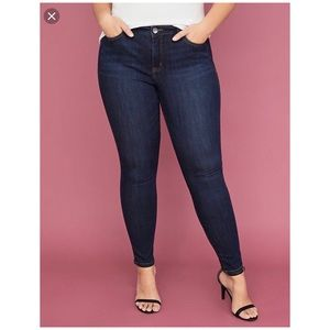 LANE BRYANT Skinny Jeans Size 22 Petite